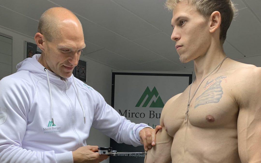 Vorteile der 13-Punkt Hautfaltenmessung im Natural Bodybuilding